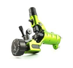 Stingray Rotary X2 Tattoo Machine in Slime Green - фото 10263