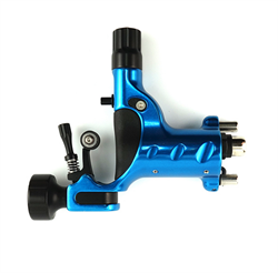 DRAGONFLY X2 Rotary Tattoo Machine - DEMONIC BLUE - фото 10339