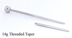 Резьбовой тапер 14G - фото 11050