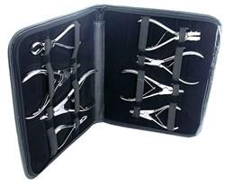Набор инструментов для пирсинга в кейсе - фото 11064