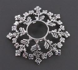 SNOW FLAKE Nipple Ring Shield - фото 11180