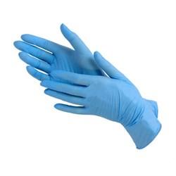 Перчатки нитриловые - 5 пар (Голубые) - фото 12137