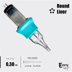 Картриджи Envy Gen 2. Round Liner 0,30 mm - 1 шт - фото 6906