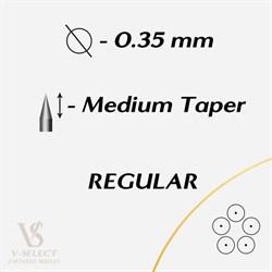 Картриджи Round Shader MEDIUM Taper - EZ® V-System - фото 7273