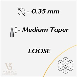 Картриджи Round Liner MEDIUM Taper Loose - EZ® V-System - фото 7288