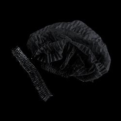 """Медицинская шапочка """"Шарлотта"""" черная - фото 8335"""