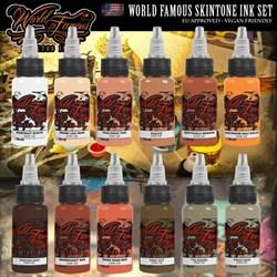 WORLD FAMOUS SKINTONE INK SET - фото 9230