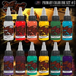 WORLD FAMOUS PRIMARY COLOR INK SET #3 - фото 9234