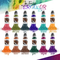 World Famous Jay Freestyle Water Colors Set - фото 9252