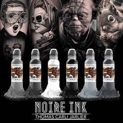 World Famous Ink Thomas Carli Jarlier - Noire Ink Set - фото 9254