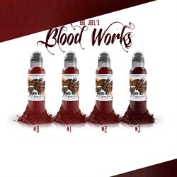 World Famous Ink Blood Wash Set - Big Joel - фото 9264