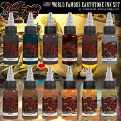 WORLD FAMOUS EARTHTONE INK SET - фото 9271