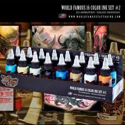 WORLD FAMOUS 16 COLOR INK SET #2 - фото 9273