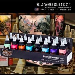 WORLD FAMOUS 16 COLOR INK SET #1 - фото 9274