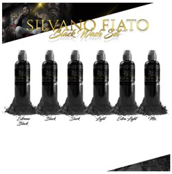 World  Famous Ink SILVANO FIATO BLACK WASH SET - фото 9280