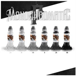 World  Famous Ink Poch Mono Chromatic Set - фото 9284