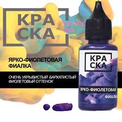 КРАСКА Ярко-Фиолетовая Фиалка - фото 9990