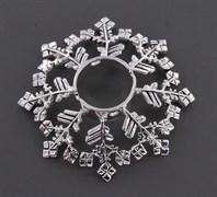 SNOW FLAKE Nipple Ring Shield