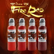 World Famous DIMA NBK FIRE RED SET