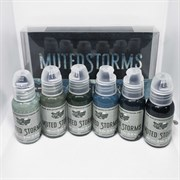 World  Famous Ink Poch's Muted Storms Set