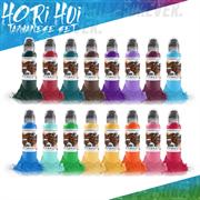World  Famous Ink Hori Hui Taiwanese Set 16 Colors