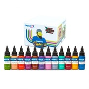 Intenze Ink Chris 51 Geek Ink Set of 12 Cartoon Colors